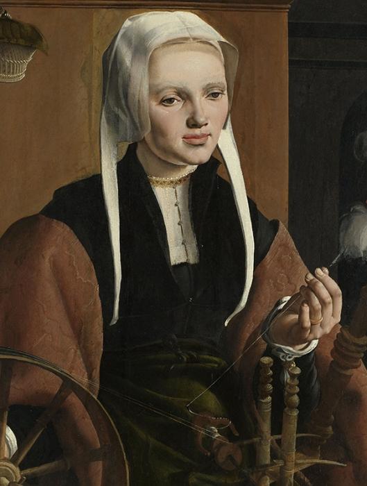 Maarten van Heemskerck (1498–1574) Portraits of a Couple possibly Pieter Gerritsz Bicker and Anna Codde Haarlem oil on panel 1529 600