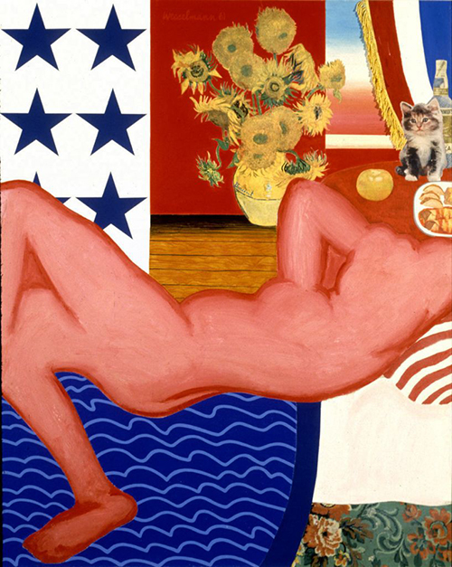 Tom Wesselmann - Great American Nude No 20 1961