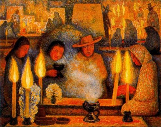 Diego Rivera - Dia de Finados