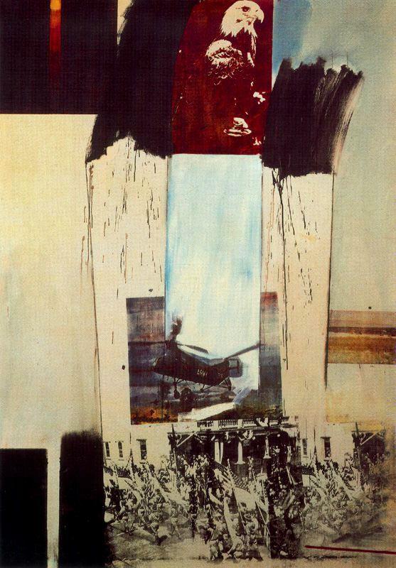 Robert Rauschenberg - Falcão 1963