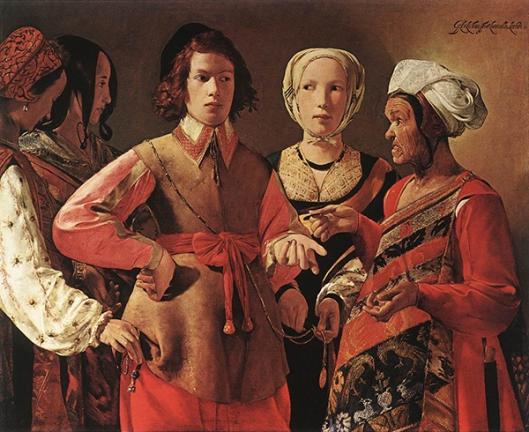 George de La Tour (1593-1652)- Ler a Sina (1632-1635) 600px