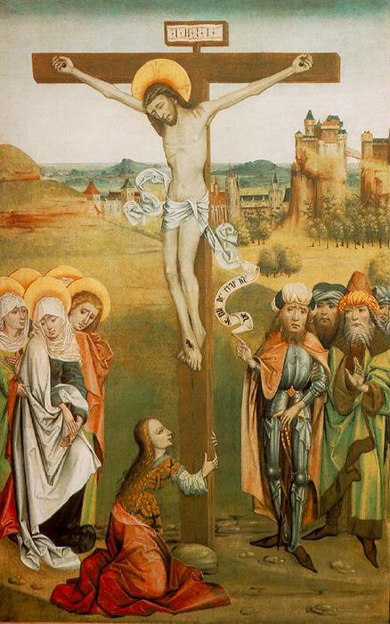 4 Mestre húngaro desconhecido - Cristo cruxificado 1476 700px