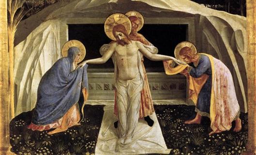 7 Fra Angelico Enterro de Cristo 1438-40 detalhe 600px