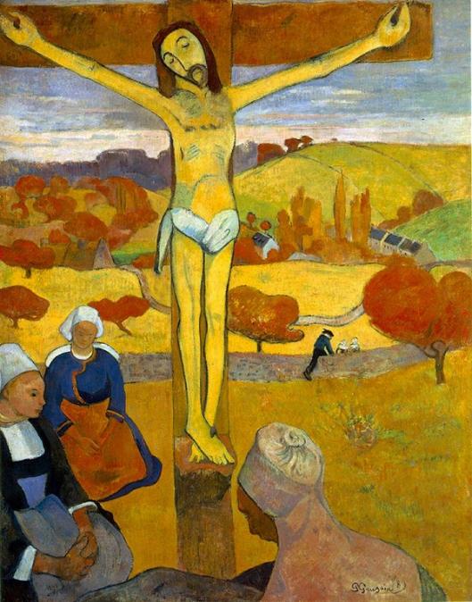 Gauguin - Cristo Amarelo 1889 600px