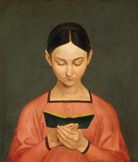 Gustav Adolph Hennig - Rapariga a ler