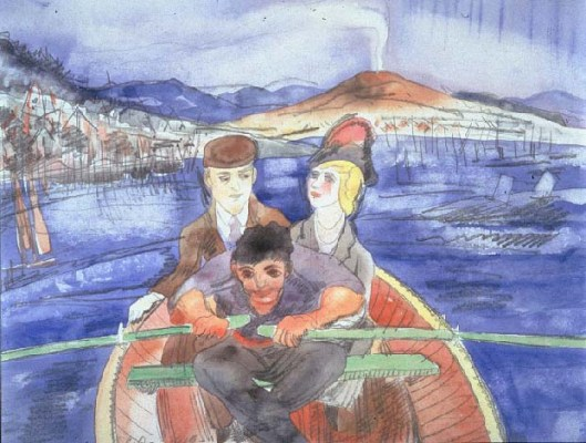 Charles Demuth-The Boat Ride from Sorrento 1919