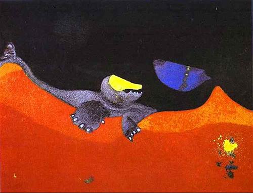 Ernst Max - Sinal para uma escola de monstros 1968 500px