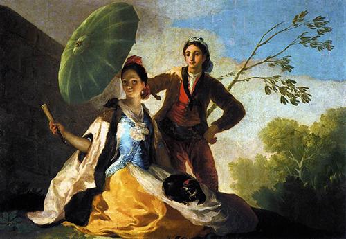 Goya - O Guarda-sol 1776-78 500px