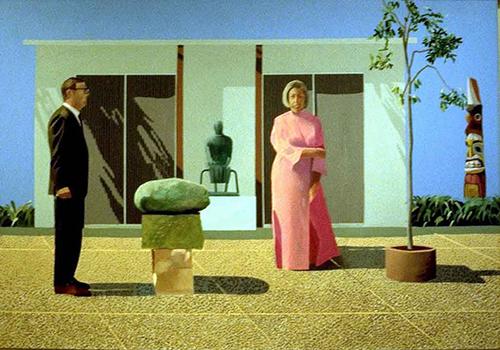 HOCKNEY David American Collectors 1968 500px