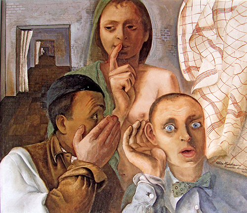 Felix Nussbaum 4 - O segredo 1939 500px