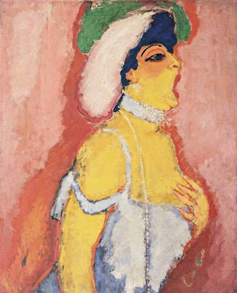 Kees van Dongen - Modjesko opera singer 1908