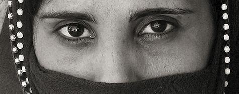 beduína- o olhar